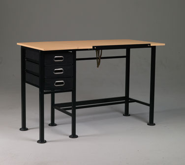 martin® dorchester split top drawing table