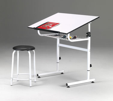 The Martin® Gallery Art Table Is Perfect For Any Drafting, Art Or Hobby  Application. Easy To Assemble, This Table Has A Wide Entry Access That Will  ...