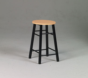 Martin Studio Stool with Woodgrain Top Desk Height Martin Universal Design 91-01500